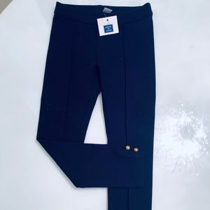 Brand New With Tags girls leggings a navy size 5